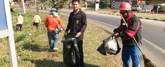 กองสาธารณสุขเทศบาลตำบลนางัว ร่วมกันพัฒนาทำความสะอาด